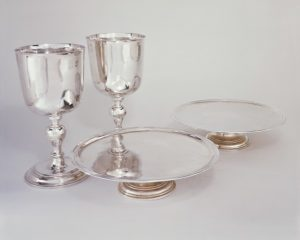 Communion set by Lewis Cuny