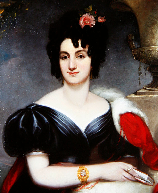 Portrait of Louise Grellier