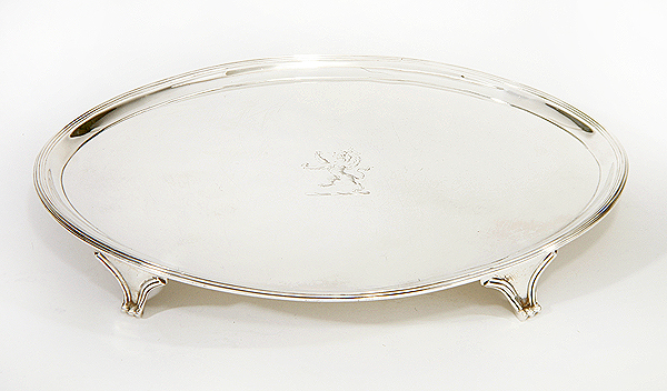 Silver plate by Peaston