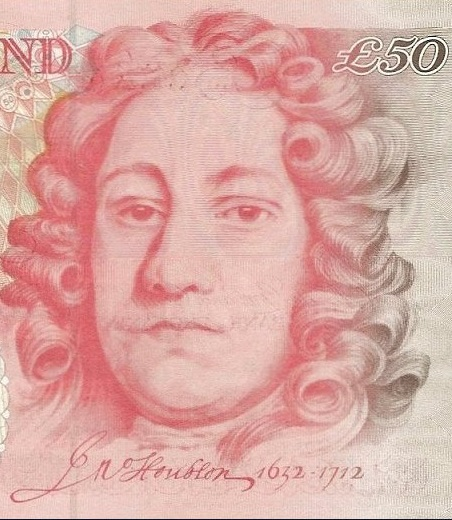 Image of Houblon taken from a £50 note
